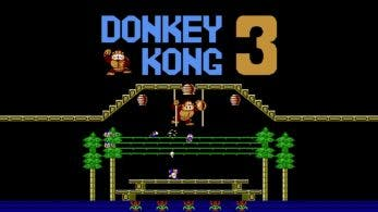[Act.] Arcade Archives: Donkey Kong 3 llegará el 5 de abril a Nintendo Switch