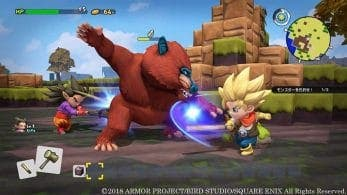 La versión 1.5.1 de Dragon Quest Builders 2 en Nintendo Switch estará disponible hoy
