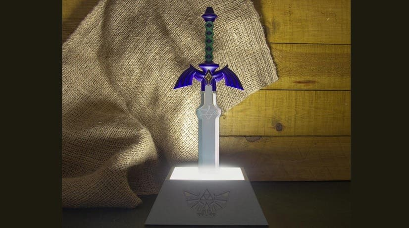 Ya disponible la espada Seal the Darkness de The Legend of Zelda