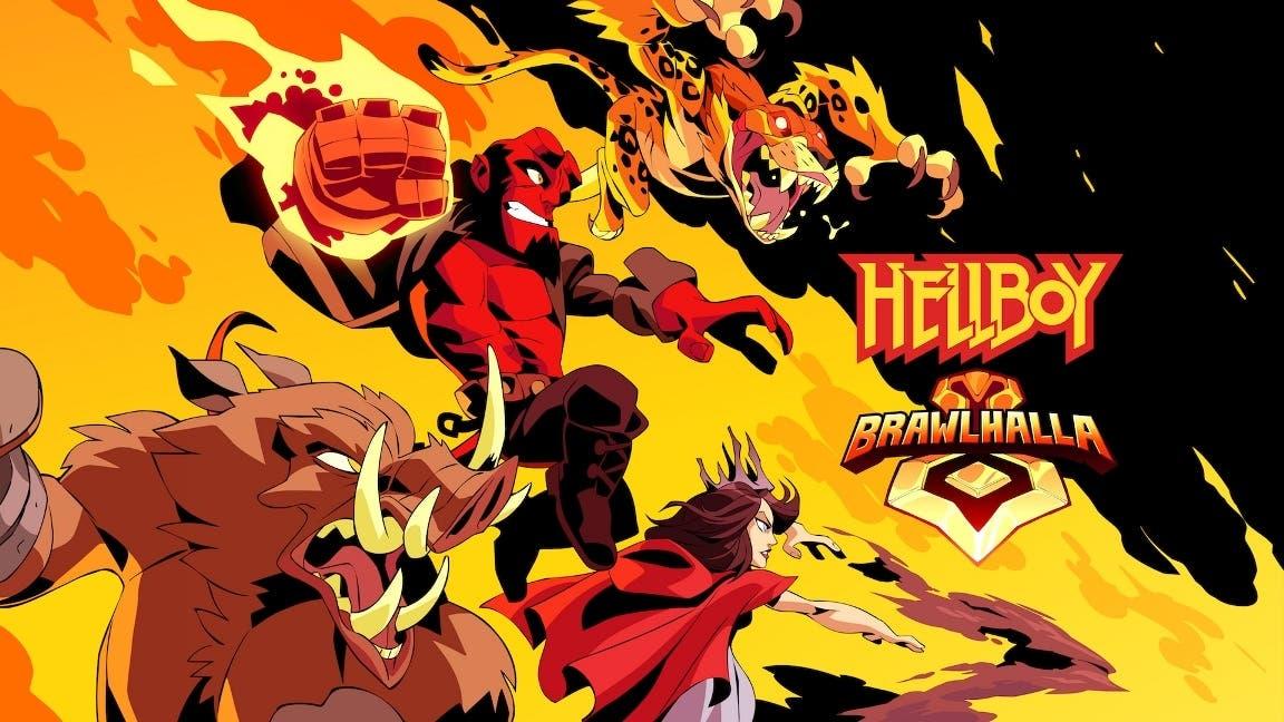 La colaboración con Hellboy llega mañana a Brawlhalla