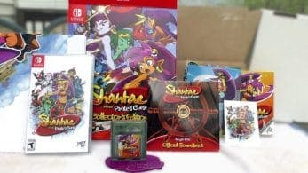 Unboxing de Shantae and the Pirate's Curse Collector's Edition