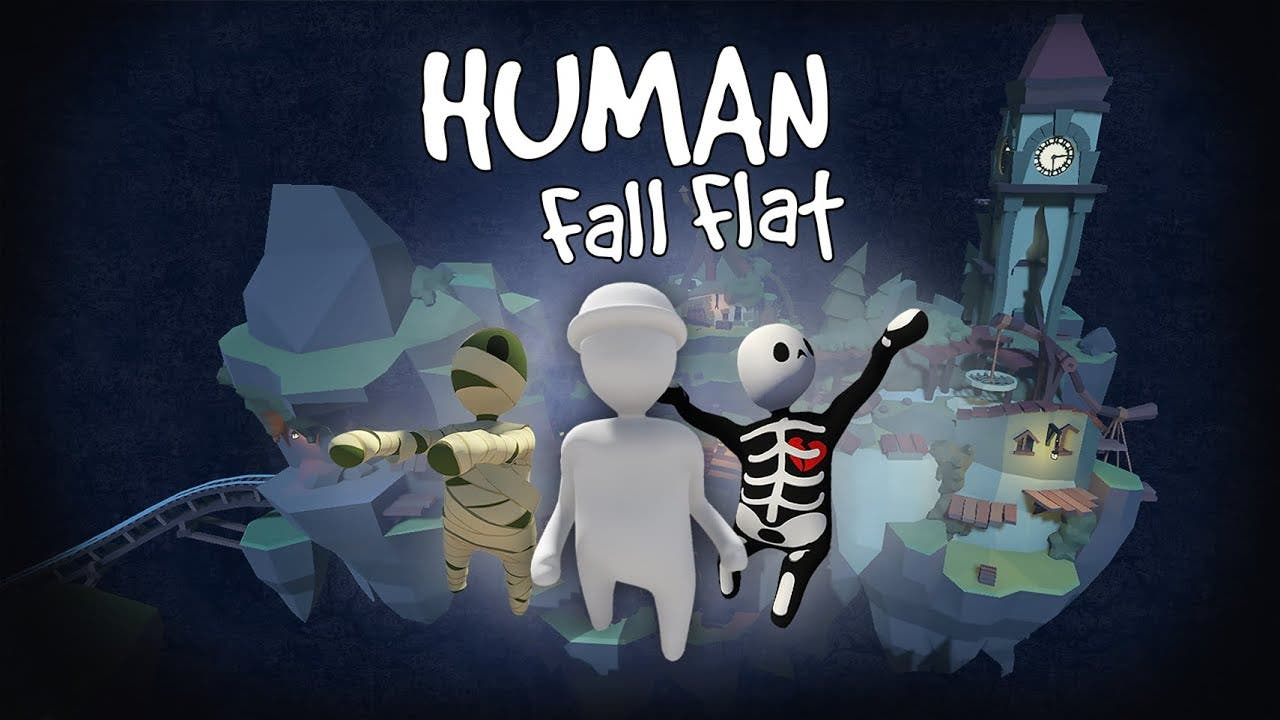 El nivel gratuito «Dark» llega el 16 de abril a Human: Fall Flat