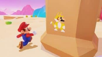 La actualización de Realidad Virtual de Super Mario Odyssey incluye nuevos Mario felinos pixelados
