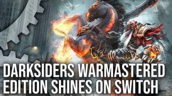 Este vídeo compara los modos «alta resolución» y «60fps» en Darksiders Warmastered para Nintendo Switch