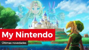 Novedades de abril en el catálogo europeo y americano de My Nintendo