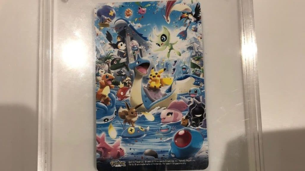 Las tarjetas EZ-Link vuelven a estar disponibles en el Pokémon Center de Singapur