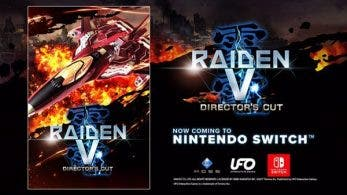 Raiden V: Director's Cut confirma su estreno en Nintendo Switch para junio