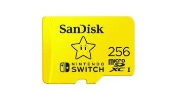 Pronto saldrá a la venta una tarjeta SD de SanDisk de 256 GB con la Estrella de Super Mario