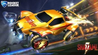 Rocket League recibe una colaboración de ¡Shazam!