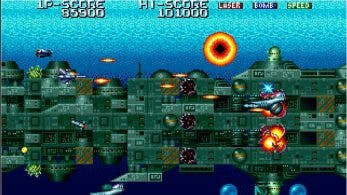 Terra Force ya está diponible para Switch bajo el sello Arcade Archives de Hamster en Norteamérica