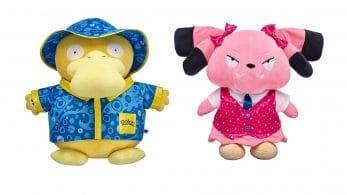 Psyduck y Snubbull se unen a la colección de peluches Pokémon de Build-A-Bear