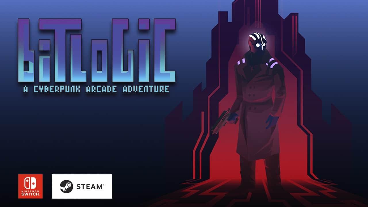 OXiAB Game Studio planea lanzar Bitlogic – A Cyberpunk Arcade Adventure en Nintendo Switch