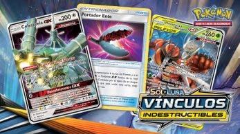 Reveladas 3 nuevas cartas de la próxima expansión del JCC Pokémon Sol y Luna-Vínculos Indestructibles