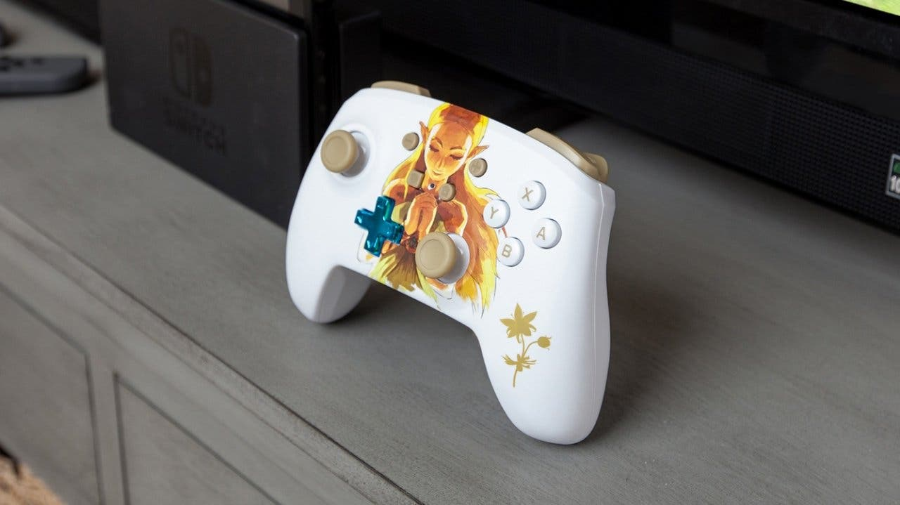 [Act.] Este mando Pro de PowerA para Nintendo Switch es ideal para los fans de Zelda: Breath of the Wild