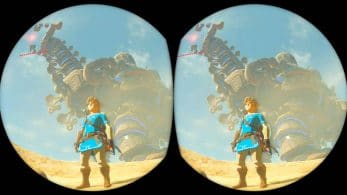 La realidad virtual de The Legend of Zelda: Breath of the Wild tendrá rastreo rotacional