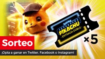 [Act.] ¡Sorteamos una entrada doble de Pokémon: Detective Pikachu al día!