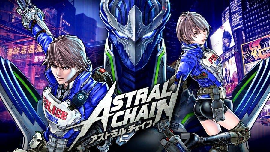 Se filtra un nuevo arte de Astral Chain