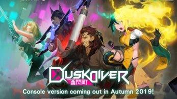 Dusk Diver tendrá un lanzamiento mundial en Nintendo Switch este mismo otoño
