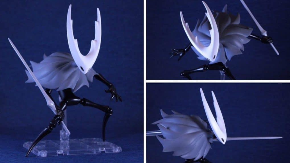 Echad un vistazo a esta fantástica figura fan-made de Hollow Knight