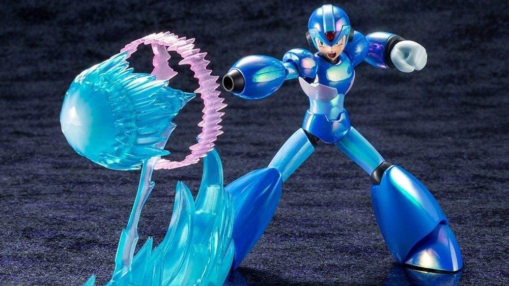 Un vistazo detallado a la nueva figura de Mega Man X