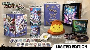 Se anuncia la Limited Edition de Super Neptunia RPG para Nintendo Switch