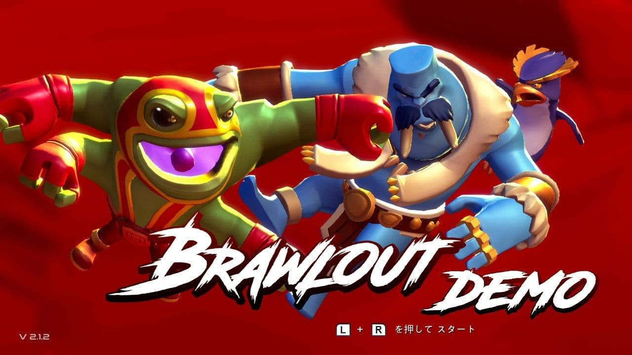 Ya está disponible una demo de Brawlout en la eShop japonesa de Switch