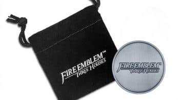 Con la reserva de Fire Emblem Three Houses en GAME conseguirás esta chapa metálica