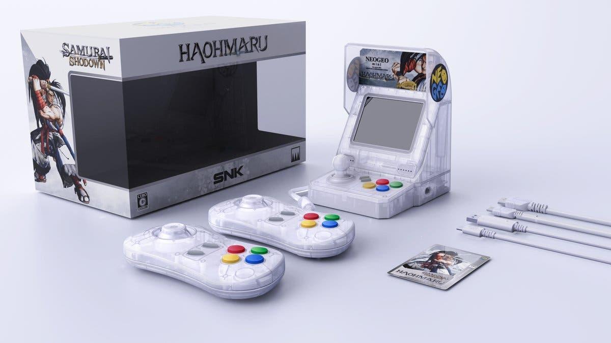 SNK lanzará en Japón tres nuevos modelos de Neo Geo Mini transparentes basadas en Samurai Shodown