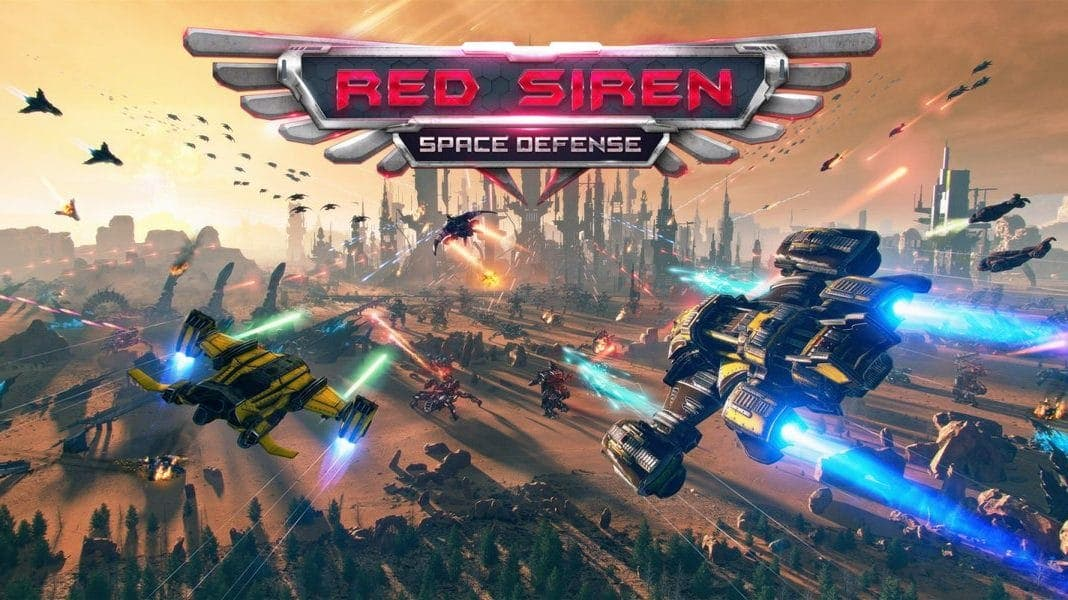Red Siren: Space Defense llegará a Nintendo Switch: listado para el 4 de junio en la eShop