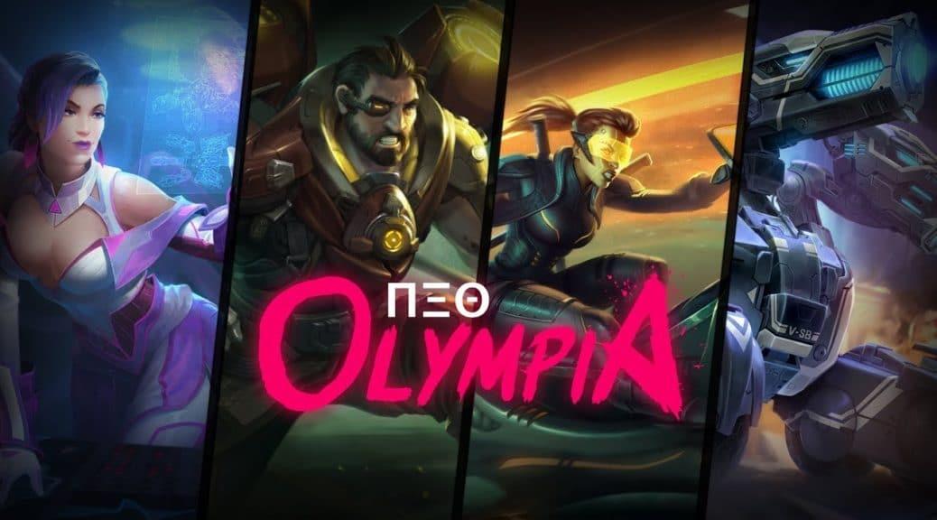 [Act.] Smite anuncia el nuevo pase de batalla: Neo Olympia
