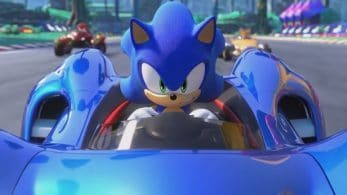 Team Sonic Racing no incluye la escena introductoria en Nintendo Switch
