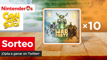 [Act.] ¡Sorteamos 10 copias de Warparty para Nintendo Switch en Twitter!