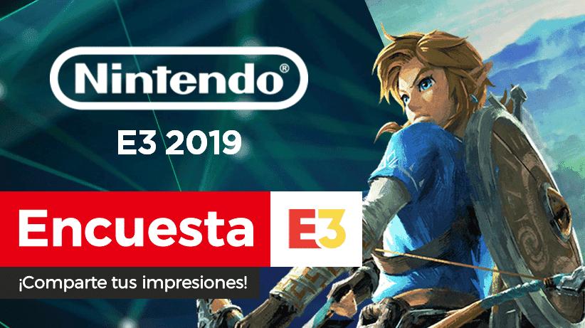 [Encuesta] ¿Qué te ha parecido el E3 2019 de Nintendo?