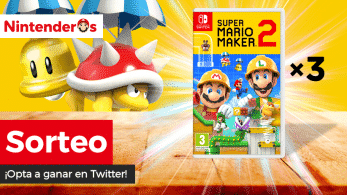 [Act.] ¡Sorteamos 3 copias de Super Mario Maker 2 para Nintendo Switch!