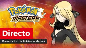 ¡Sigue aquí en directo la presentación oficial de Pokémon Masters!