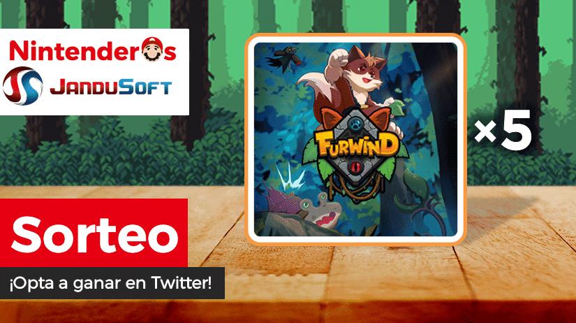 [Act.] ¡Sorteamos 5 copias de Furwind para Nintendo Switch junto a JanduSoft!