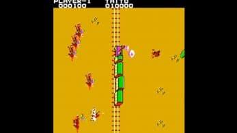 Wild Western llegará mañana a Nintendo Switch bajo el sello Arcade Archives de Hamster