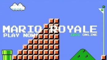 Fan crea Mario Royale, un Battle Royale gratuito de Super Mario Bros.
