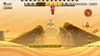 Fan añade animaciones al sol de Super Mario Maker 2 con un resultado muy curioso