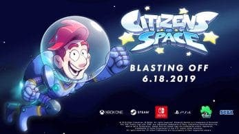 SEGA anuncia Citizens of Space para Nintendo Switch
