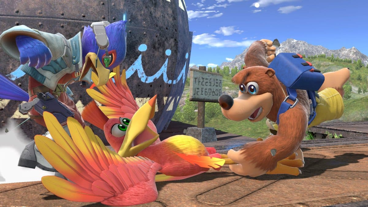 Banjo-Kazooie será personaje jugable en Super Smash Bros. Ultimate