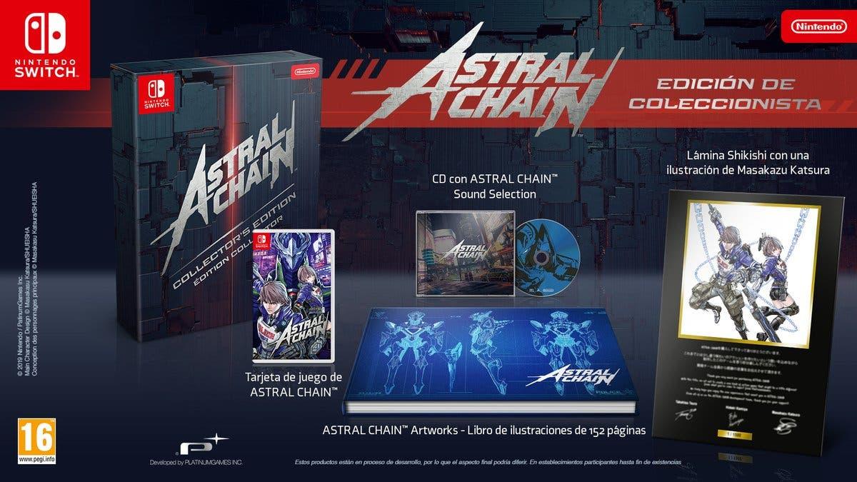 Astral Chain contará con esta edición de coleccionista en Europa