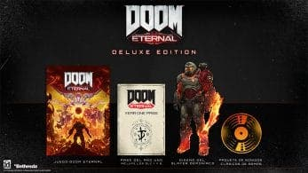 Así es la DOOM Eternal Deluxe Edition que llegará a Nintendo Switch