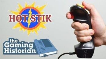 Echa un vistazo al mando NES Hot Stik, el Nunchuk clásico de la NES