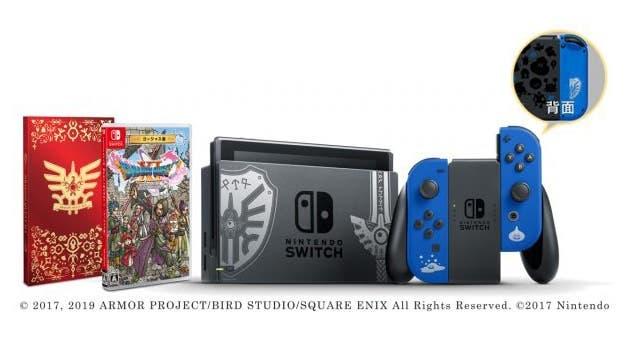 [Act.] Más detalles sobre el pack de Nintendo Switch de Dragon Quest XI S anunciado para Japón
