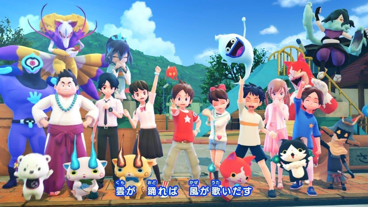 Nuevos tráilers y comerciales de Yo-Kai Watch 4 para Japón