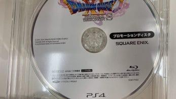 Una misteriosa imagen de un disco de Dragon Quest XI S para PS4 aparece en Japón