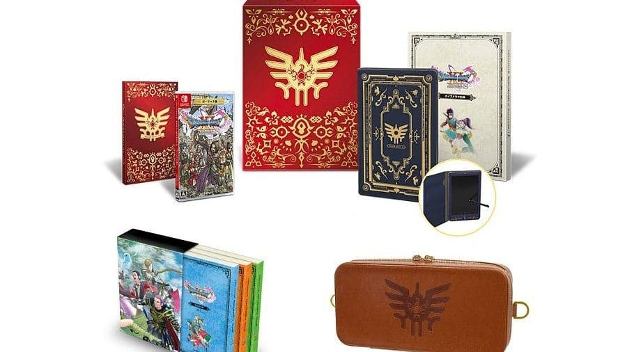 Ya están abiertas las reservas de Dragon Quest XI S Gorgeous Edition of Dreams y Dragon Quest XI S Strongest Gorgeous Set en la NintendoSoup Store
