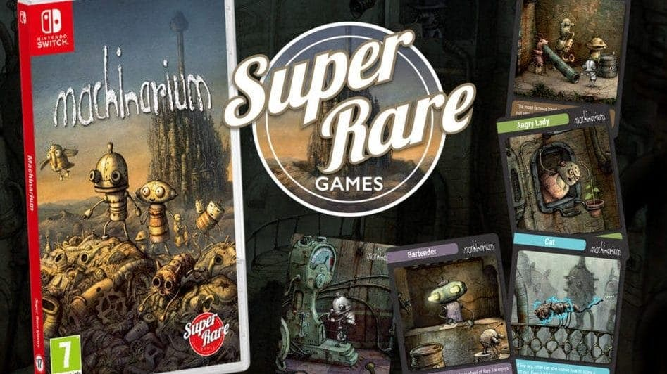 Machinarium llegará en físico a Nintendo Switch de la mano de Super Rare Games
