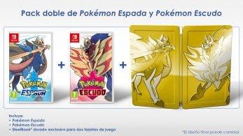 Detallado el pack doble especial que se lanzará con Pokémon Espada y Escudo el 15 de noviembre